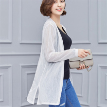 Women 2017 New Sweater Casual Crochet Poncho Clothing Spring Summer Cardigan Blouse Shirt Tops For Woman Sexy Plus Size Blusas(China)