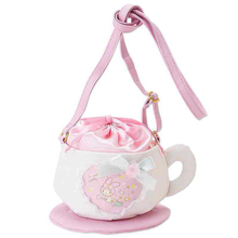 Women Girls Lolita Pink Melody Coffee Cup Designer Single Shoulder Bag Handbag Cute Gift