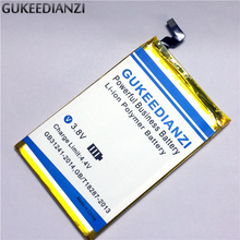 GUKEEDIANZI shark 1 High Capacity 6000mAh Battery For LEAGOO shark 1 Mobile Phone Replacement Lithium Polymer Battery(China)