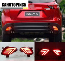 car styling Multi-function LED Rear Bumper Light For Mazda CX-5 CX5 2012 -2016 Auto Brake Light led tail light(China)