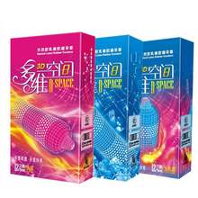 Buy 3D Dotted Thread Ribbed G Point Latex Condoms Natural Latex Sleeve Contraceptives Big Particle Spike Condom Men Sex Products