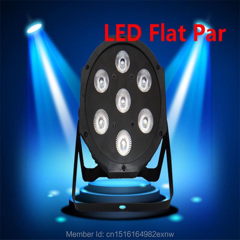 (18pcs) Fast Shipping American DJ Flat SlimPar Quad 7x12W RGBW Color Mixing LED 7x12W DMX Light Uplighting<br><br>Aliexpress