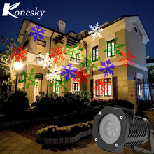 Christmas Halloween Holiday decoration Fantastic LED Night Light Waterproof IP65 Indoor/Outdoor Projector Luminaria Novelty Lamp(China)