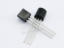 100PCS/LOT DALLAS DS18B20+ 18B20 DS18B20 TO-92 IC CHIP Thermometer Temperature Sensor Free Shipping
