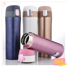 SGS 500ml Thermos Cup Stainless Steel Bottle Vacuum Flasks Thermoses garrafa termica infantil my bottle thermo free shipping(China)