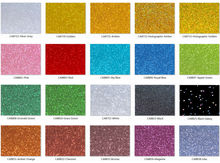 600mm x 300mm x 3.0mm (L x W x T), Multi-Colors Acrylic (PMMA) Plexiglass Glittering Sheets - 8 pcs/lot