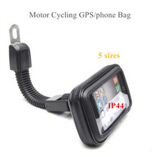 Motorcycle Mobile Phone Holder Stand for iPhone 7 6S 6 Plus GPS motor Rear View Mirror Mount holder for galaxy S8 S7 S6 edge