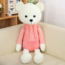 50CM Large Kawaii Pink Teddy Bear Stuffed Animal Plush Doll Soft Cute Bear Toys(China)
