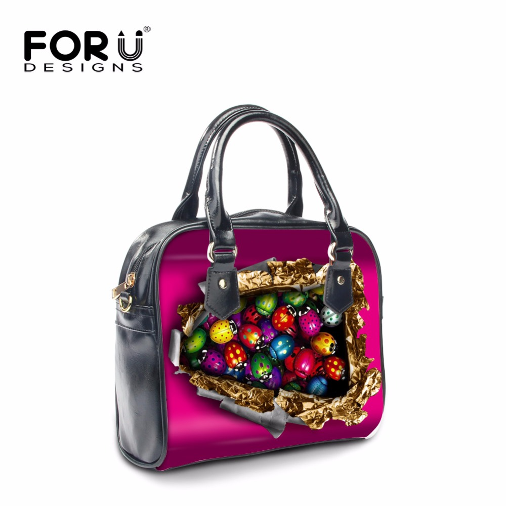 FORUDESIGNS Women Tote Shoulder Crossbody Bag,Famous Brands Woman Messenger Bags Designer,Female Candy Luxury Women Handbags<br>