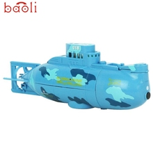 BAOLI Modern 2017 RC Water Boat 6CH Speedboat Model High Powered 3.7V Toy Boat Plastic Model Large Submarine Outdoor Toys Feb28
