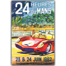 Vintage Car Poster Custom Home Decoration Fashion Silk Canvas Fabric Wall Poster Car Design Wallpaper YL076