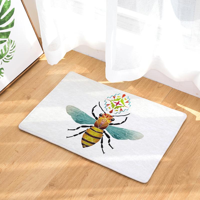 Flannel Floor Mats Magical Animals Printed Bedroom Living Room ...