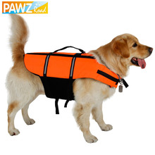 S-3XL Pet Life Vest for Safety Pet Clothes Reflective Light Yellow Color Play Safety Summer Puppy Dog Cat Apparel Pet Supplies(China)