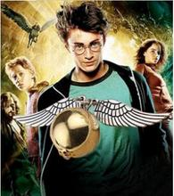 The fine 3 d movie snitch gold necklace of harry potter and the deathly hallows Golden snitch necklace