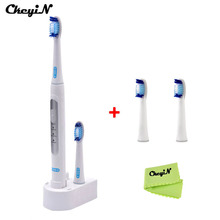 Oral Hygiene Dental Care Electric Ultrasonic Toothbrush for Adults Cepillo Dientes Electrico Teeth Brush+ 4pcs Replaceable Heads