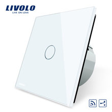 Livolo EU Standard Wireless Switch 1Gang 2 Way, With Remote Function,VL-C701SR-1/2/3/5
