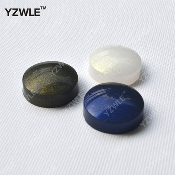 YZWLE 1Pcs/set Starry Sky Stamper Soft Silicone Head flat seal head# 4cm Seal head Nail Art Stamping Tool #YZW-NP9