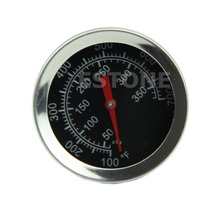 New Stainless Steel Oven Cooking Milk BBQ Meat Food Thermometer Gauge 400 Celsius