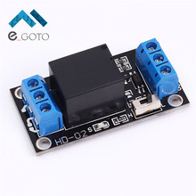 3.3V 1 Channel Relay Module High Low Level Adjustable Trigger Board Precise Power Supply Module For Arduino Relay Control Board(China)