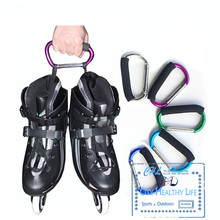 Multifunctional Roller Skates Shoes Handle Buckle Hook Hasps for Inline Slalom Skating Shoes