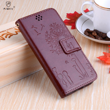 FilP case For K8 Lte K350E / lg K10 M2 Case Lavender Flower Butterfly Flip Leather Case Coque For K 10 /LG k7 Phone Cover capa
