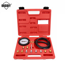 TU-11A Universal Automotive Pressure Tester Pressure Meter Oil Pressure Tester Gauge Test Kit Garage Tool hot selling