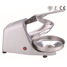 Commercial electric ice shaver/professional ice crusher,65kgs per hour,aluminum body and stainless steel blade(China)