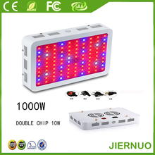 1000W LED Grow Light 10W Double Chips 400w SMD Full Spectrum LED growth lamp for aquarium and hydroponics system indoor plants