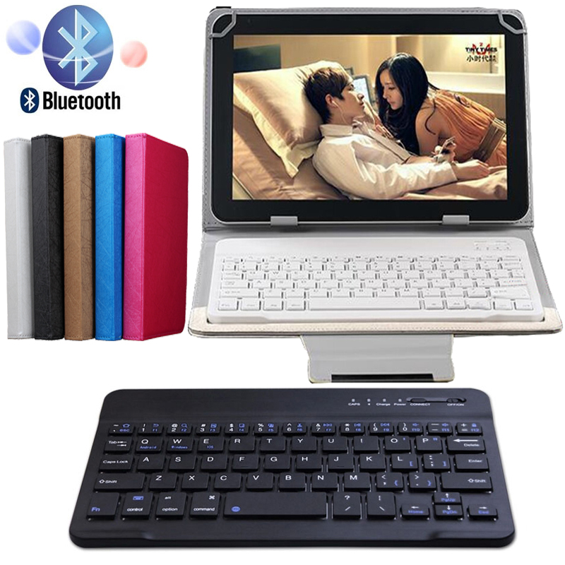 High Quality Leather Bluetooth 3.0 Wireless Keyboard Case Cover For Teclast X10 3G / X10 Plus 10.1 Inch Tablet Flip Stand Cover<br><br>Aliexpress