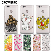 CROWNPRO Soft Silicone Case For Huawei Nova Case TPU 5.0 inch Colored Case Back for Huawei Nova Protective Cover Phone Case