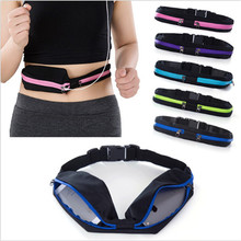 New Portable Waist Pack Waist Bag Waterproof Bag Pouch Pocket Coin Purse Hip Money Belt travel Mobile Phone Bag