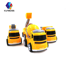 4Pcs/Set Kids Toy Car truck Scale Model truck children Toy Vehicles miniature truck plastic kids toys car toys for children(China)