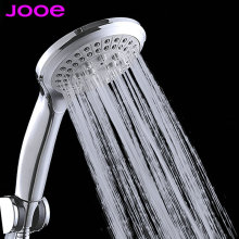 JOOE boost water saving round shower head ABS plastic hand hold rain spray bath shower waterfall showerhead Bathroom Accessories