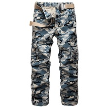 Cargo Pants Men Military Camouflage Combat Male Army Navy Windproof Zipper Fly Work Tactical Casual - Ark IT Store store