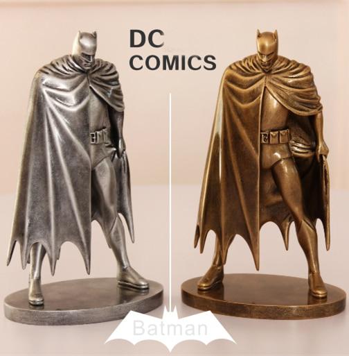 SAINTGI Superman V Batman Justice League Gray Movable The Dark Knight Marvel PP BAG Rises Avengers Super Hero PVC 19cm Figure<br>