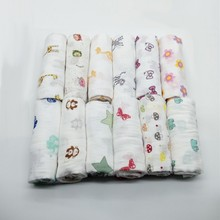 Comfort 100% Cotton Cartoon Bedding Baby  Blanket Newborn Infant Swaddle Hot KT75