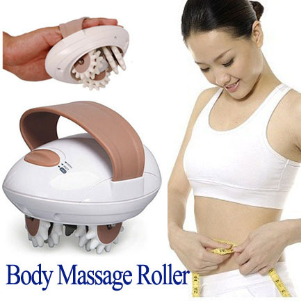 Professional Body Relax Massager Cellulite Control Roller Massager Thigh Body Slimming Health Beauty Care(China)