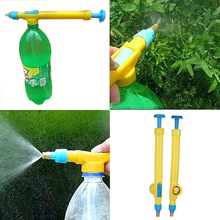 Plastic Hand Sprayer Gardening Pressure Pump Spray Water Bottle Spread Tool Car Washing Mechine Garden Watering Irrigation Tool(China)