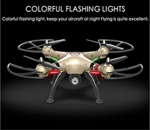 Big scale RC Quadcopter Drone X8HC 4CH 2.4GHz 6 Axis with 2.0MP Camera Automati Air Pressure High Headless Mode PK X8C U842(China)