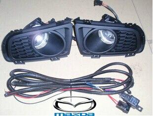 car-styling,Mazd6 halogen light,2006~2010,Free ship!2pcs,Mazd6 fog light;car-covers,Mazd6 headlight;Mazd 6<br>