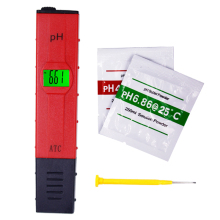 ph tester meter with backlight detected Original Pocket Pen type monitor Drinking Water Quality Analysis(China)