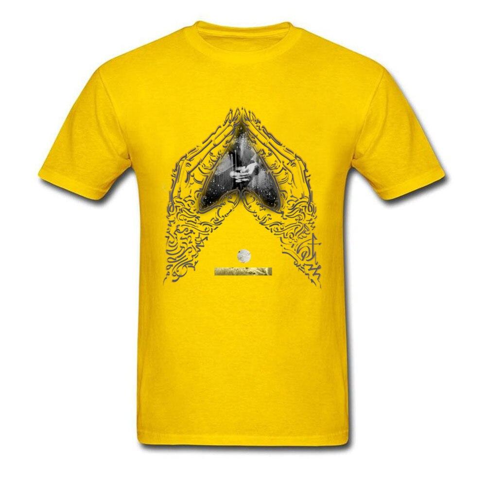 Heart Mudra on blank_yellow