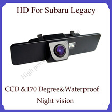 Wireless For Subaru Legacy HD CCD Night vision car backup camera 170 degree angel car rear view camera back up Camera(China)