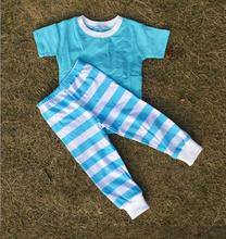 clothing factories in china unique baby girl names images baby onesie rompers kids clothing set solid color pajamas(China)