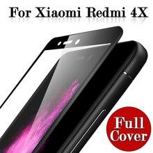 Protective Glass Xiaomi Redmi 4X Tempered Glass Xiaomi xiomi xaomi Redmi 4X 4 X Screen Protector Full Cover glas film