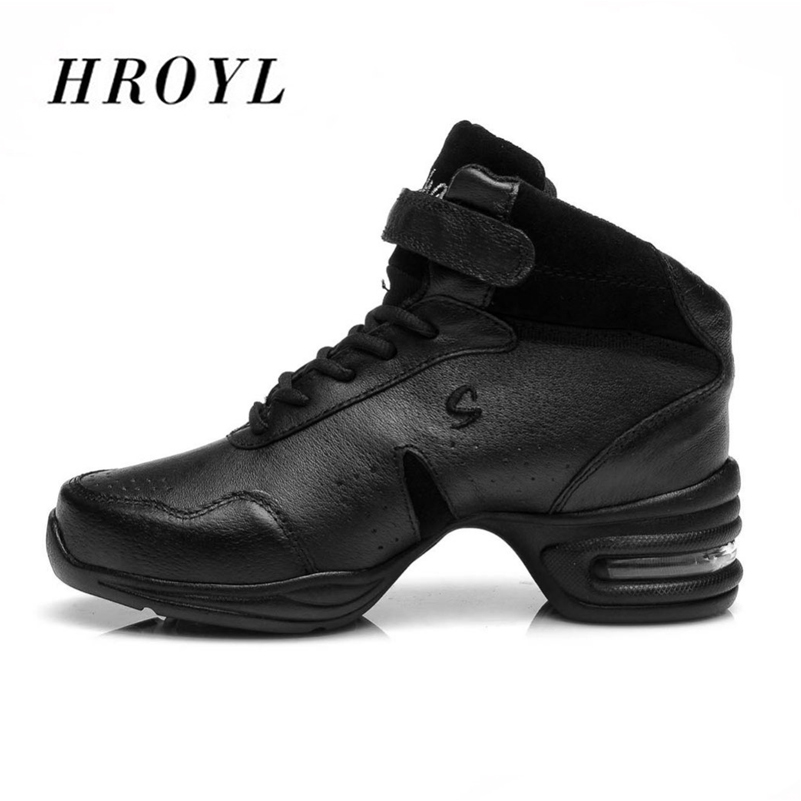High Quality Dance Shoes leather Comfort Sneaker for Women Ballroom Women Sneakers Jazz  Dance Shoes<br>