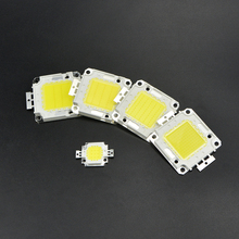 1Pcs Ultra Bright 10W 20W 30W 50W 100W SMD Integrated COB LED lamp Chip For High Power Floodlight LED Spotlight Bulb