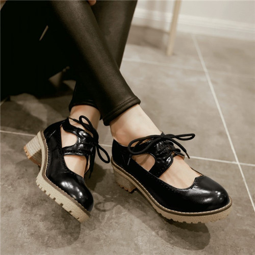 2015 new women loafers casual flatsWomen Fashion Flat Platform Slip On Moccasins Round Toe Creeper Faux Suede Shoes Plus Size