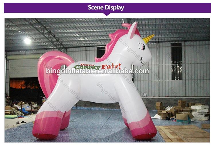 BG-A0459-Inflatable-horse cartoon-bingoinflatables_02