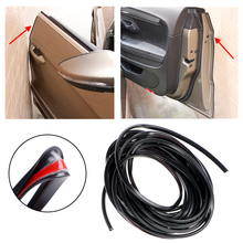 26FT/8M Car-styling Universal Car Door Protector Car Door Protection Strip Door Edge Guards Styling Mouldings Auto Replacement(China)
